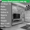 10 ways to make money online in Nigeria (Rich people won't tell you these)
